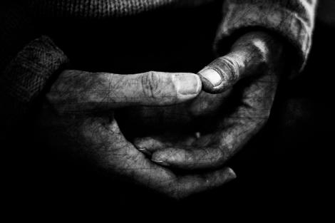 black and white meditation liz