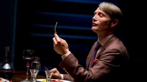 """HANNIBAL -- """"Apertif"""" Episode 101 -- Pictured: Mads Mikkelson as Dr. Hannial Lecter -- (Photo by: Brooke Palmer/NBC)"""