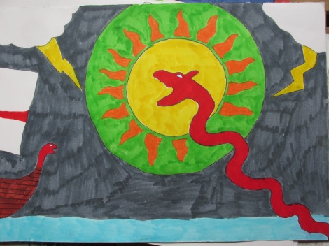 viking snake